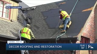 Decor Roofing and Restoration: Make sure to check your roof before Winter