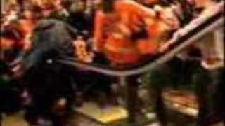 Escalator Malfunction Sends Philadelphia Flyers Fans Flying - Video