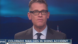 Serious accident at Breckenridge leads to death of 48-year-old Denver skier - Video
