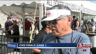 CWS fans celebrate game 1 - Video