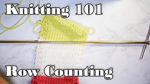 How to Count Rows in Knitting