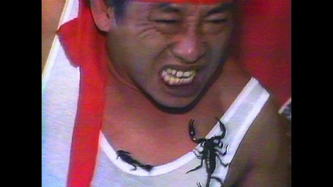 Centipede Man Angers Scorpions