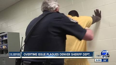 Excessive overtime costs are still an issue at Denver jails, costing taxpayers millions