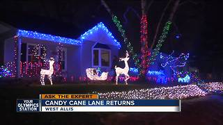 Ask the expert candy cane lane - Video