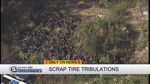 Lorain County fights back against issues caused by mountains of scrap tires