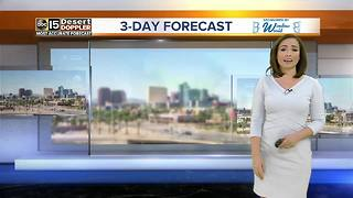 Cool temps on way to Valley - Video