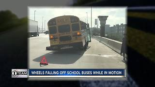 I-Team: Exposing problems with wheels falling off school buses in Florida | WFTS Investigative Report