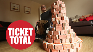 A teenager's world record attempt for the largest train ticket collection