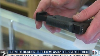 Nevada gun background check expansion hits roadblock - Video