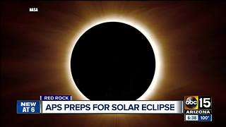 APS prepares for solar eclipse Monday - Video
