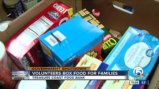 Treasure Coast Food Bank collecting food for federal employees impacted by shutdown