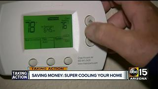 Money saving technique to cool home during summer