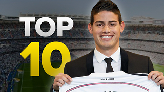 Top 10 Most Expensive Real Madrid Signings - Video