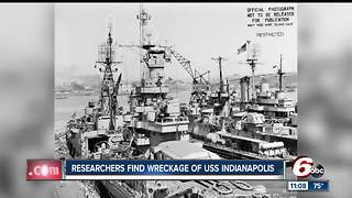 Billionaire finds USS Indianapolis in the Philippine Sea 72 years after it sunk - Video