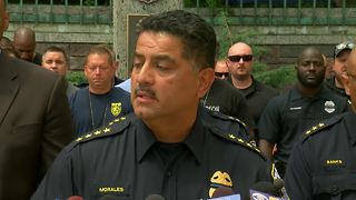 Police Chief Morales: Officer Michael Michalski leaves behind wife, three sons - Video