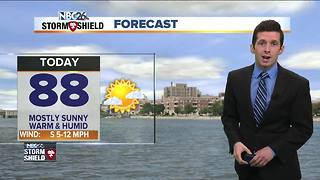 Matt's Monday morning forecast - Video