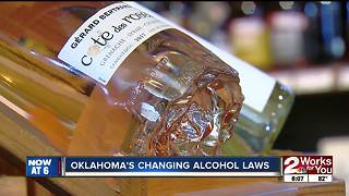 Oklahoma's changing alcohol laws - Video