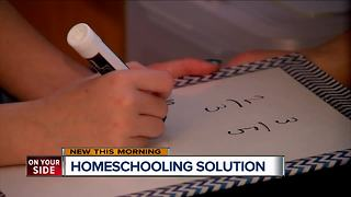Home schooling can keep children with medical issues on track - Video