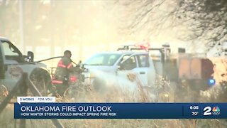 How winter storms could impact spring fire risk