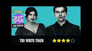 The White Tiger Review-Punjabi | Priyanka Chopra | Rajkummar Rao | Just Binge Review | SpotboyE