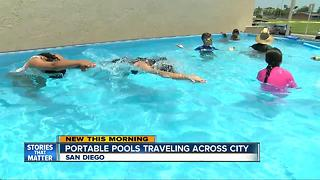 Portable pool may be coming to a San Diego neighborhood near you - Video