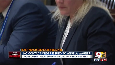 No contact order for Angela Wagner
