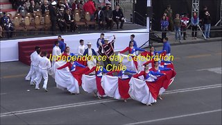 2019 Independence Day celebration in Chile