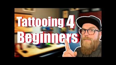 ✅Tattooing for Beginners:👀 How to line, shade and more!