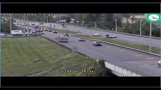 TRAFFIC ALERT | Entrance ramp to I-90 eastbound at Route 44 closed due to crash - Video