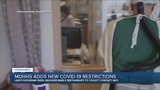 MDHHS adds new COVID-19 restrictions