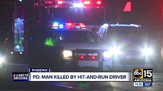 Man killed in Phoenix bit hit-and-run driver