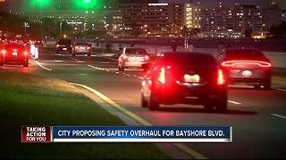 City proposing safety overhaul for Bayshore Blvd. - Video
