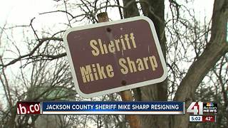 Jackson County Sheriff Mike Sharp submits letter of resignation - Video