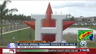 Houston Astros spring training tickets go on sale Monday