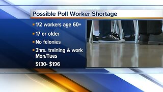Possible poll worker shortage