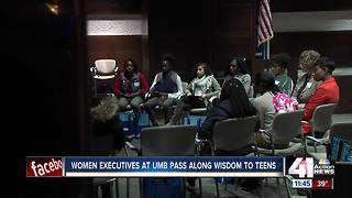 UMB Bank talks with teens about smart spending - Video