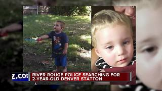 River Rouge police searching for missing child taken by non-custodial father - Video