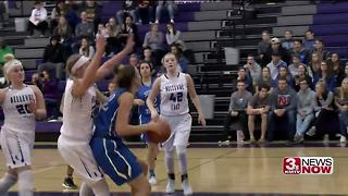 Papio South vs. Bellevue East girls basketball - Video
