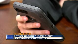 'It starts with the cellphone': Social media rife with dangers for teens