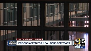 Prisons asked for new locks for years