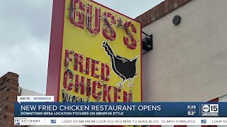 Gus's World Famous Fried Chicken opens in downtown Mesa