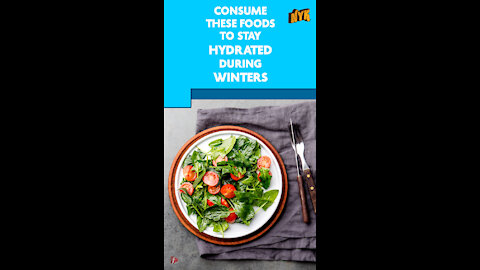 Top 4 Foods That Keep You Hydrated During Winters