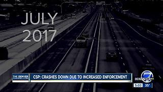 CSP: Enforcement up, wrecks and road violations down - Video