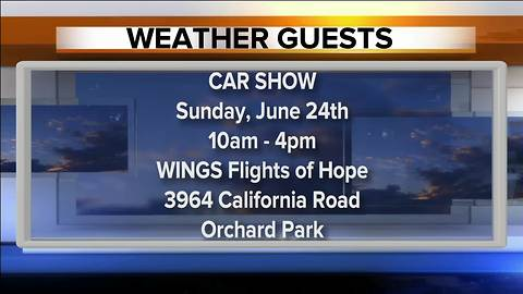 Car show benefiting WINGS Flights of Hope