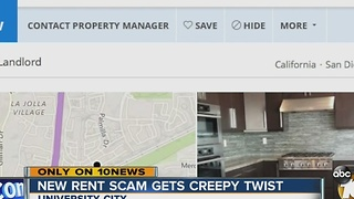 New rent scam gets creepy twist - Video