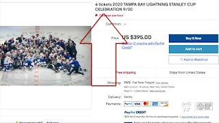 Free tickets for Lightning fan rally at Raymond James gone quickly