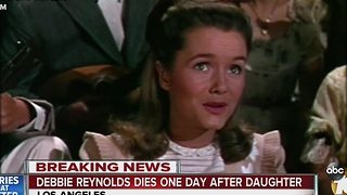 Debbie Reynolds dies one day after daughter - Video