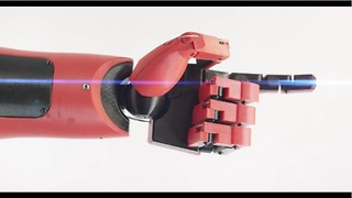 Real life prosthetic hand inspired by video game - Video
