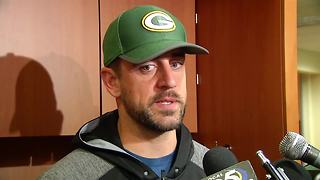 Aaron Rodgers full interview after injury - Video