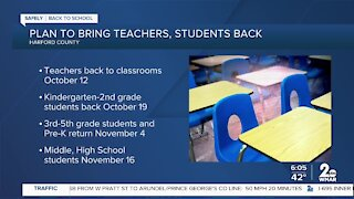Plan to bring teachers, students back